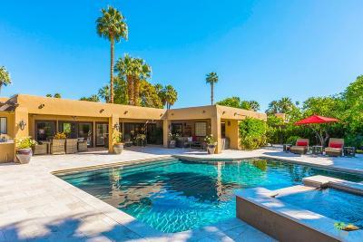 Palm Springs Single Family Home For Sale: 417 East Via Altamira