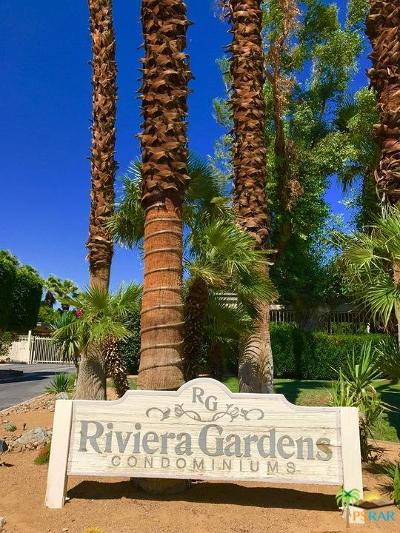 Palm Springs Condo/Townhouse For Sale: 450 East Vista Chino #2024