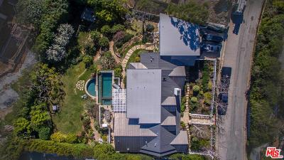 Pacific Palisades CA Single Family Home For Sale: $7,990,000
