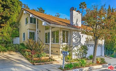 Los Angeles Single Family Home For Sale: 2870 Woodwardia Drive