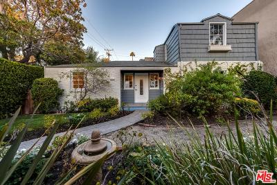 West Hollywood Single Family Home For Sale: 560 North Croft Avenue