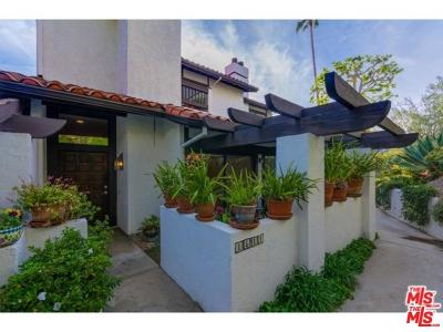 Pacific Palisades Condo/Townhouse For Sale: 1611 Michael Lane