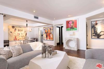 Beverly Hills Condo/Townhouse Closed: 439 North Doheny Drive #205
