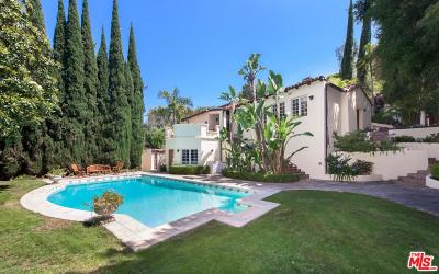 Beverly Hills Single Family Home For Sale: 1800 Angelo Drive