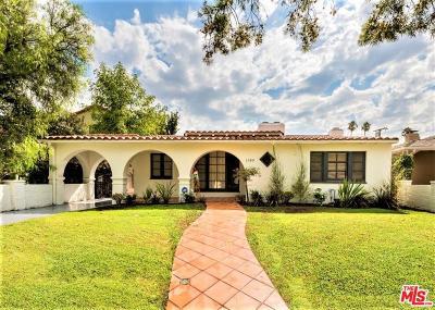 Los Angeles Single Family Home For Sale: 1180 South Sierra Bonita Avenue