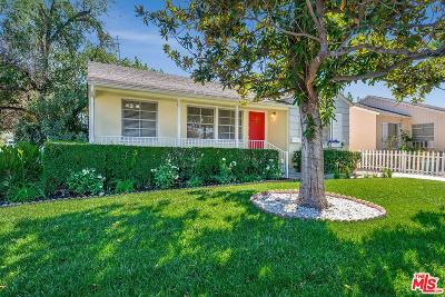 Encino Single Family Home For Sale: 17700 Bessemer Street