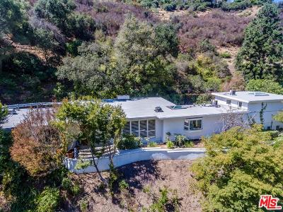 Single Family Home For Sale: 1575 Stone Canyon Road