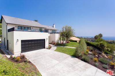 Malibu CA Single Family Home For Sale: $3,785,000