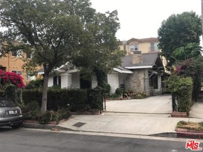 Los Angeles Single Family Home For Sale: 932 South Gramercy Drive