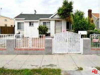 Los Angeles Single Family Home For Sale: 737 South Gramercy Place