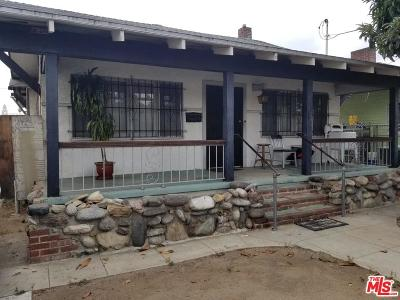 Los Angeles Single Family Home For Sale: 1552 West 22nd Street