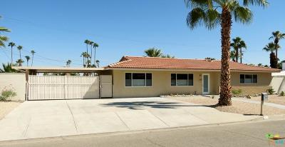 Palm Springs Single Family Home For Sale: 266 North Saturmino Drive