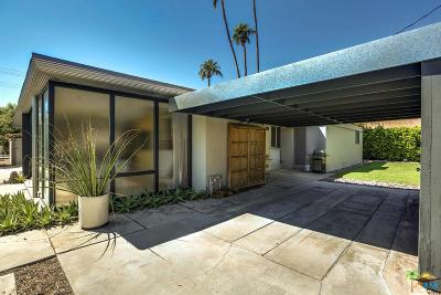 Palm Springs Single Family Home For Sale: 695 South Warm Sands Drive