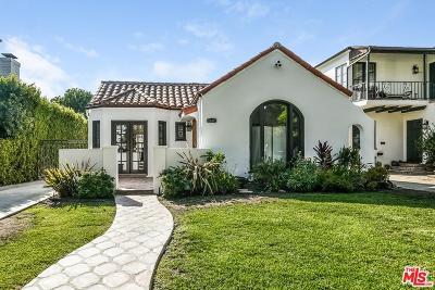 Los Angeles Single Family Home For Sale: 519 North La Jolla Avenue