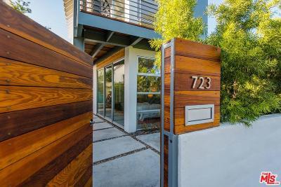 Santa Monica Single Family Home For Sale: 723 Ozone Street