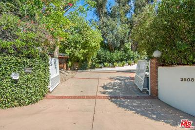 Los Angeles Single Family Home For Sale: 2808 Woodstock Road