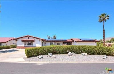Desert Hot Springs Single Family Home For Sale: 9451 Capiland Road