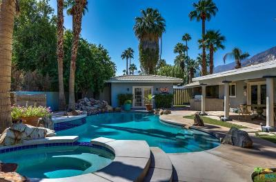 Palm Springs Single Family Home For Sale: 1500 South Calle Palo Fierro