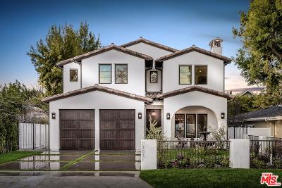 Studio City Single Family Home For Sale: Bloomfield Street
