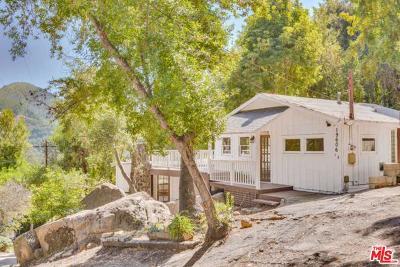 Topanga Single Family Home For Sale: 19606 Walnut Trails