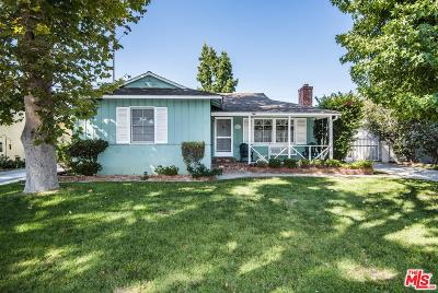 Sherman Oaks Single Family Home For Sale: 14013 Hesby Street