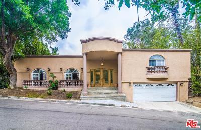 Tarzana Single Family Home For Sale: 4917 Tarzana Woods Drive