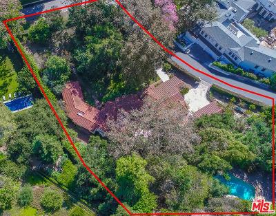 Los Angeles Single Family Home For Sale: 901 Stone Canyon Road