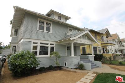 Los Angeles Single Family Home For Sale: 1325 South Harvard