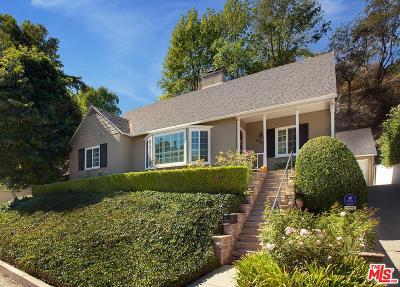 Sherman Oaks Single Family Home For Sale: 4145 Woodcliff Road