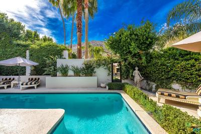 Palm Springs Single Family Home For Sale: 1755 South Mesa Drive