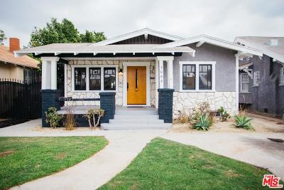 Los Angeles Single Family Home For Sale: 5000 South Wilton Place