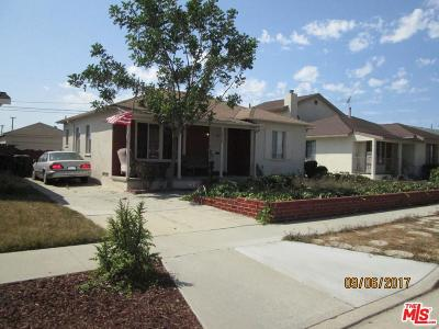 Torrance Single Family Home For Sale: 2334 West 164th Street