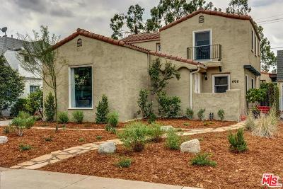 Los Angeles County Single Family Home For Sale: 605 Grove Place