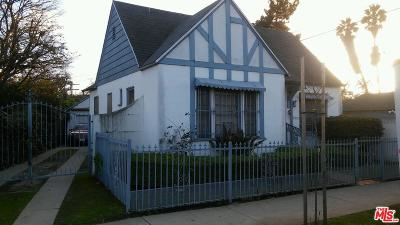 Los Angeles Single Family Home For Sale: 3512 West 25th Street