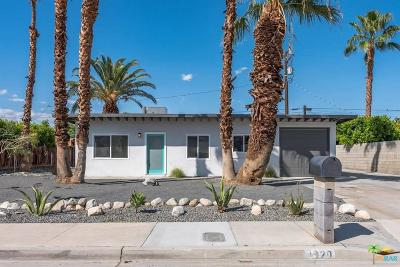 Palm Springs Single Family Home For Sale: 3920 East Sunny Dunes Road