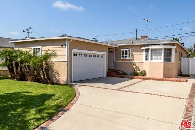 Torrance Single Family Home For Sale: 3243 West 166th Street