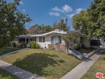 Single Family Home For Sale: 7701 Norton Avenue
