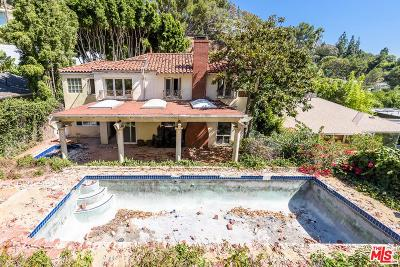 Los Angeles Single Family Home For Sale: 1549 North Doheny Drive