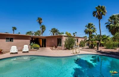 Palm Springs Single Family Home For Sale: 835 East Spencer Drive