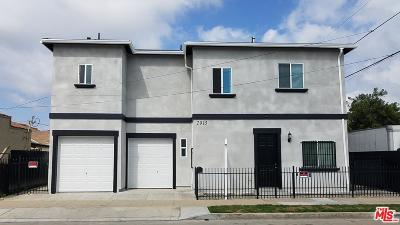 Los Angeles Single Family Home For Sale: 2915 West 67th Street