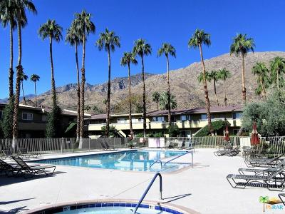 Palm Springs Condo/Townhouse For Sale: 1950 South Palm Canyon Drive #116
