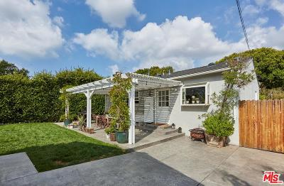 Santa Monica Single Family Home For Sale: 1128 Marine Street