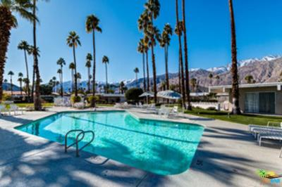Palm Springs Condo/Townhouse For Sale: 2033 East Ramon Road #8A