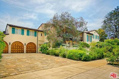 Pacific Palisades Single Family Home For Sale: 14924 Camarosa Drive