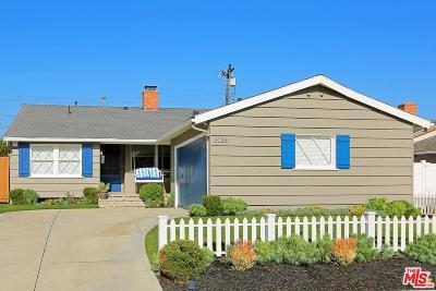 Santa Monica Single Family Home For Sale: 3035 Paula Drive
