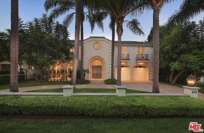 Beverly Hills Single Family Home For Sale: 608 North Roxbury Drive