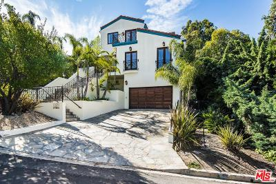 Sunset Strip - Hollywood Hills West (C03) Single Family Home For Sale: 3259 Dos Palos Drive