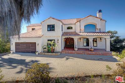 Malibu CA Single Family Home For Sale: $2,195,000