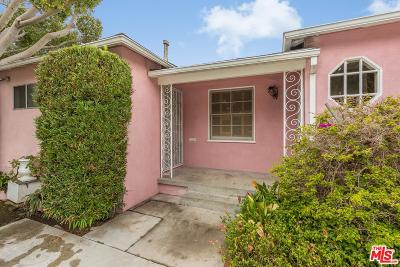 Culver City Single Family Home For Sale: 4381 Motor Avenue