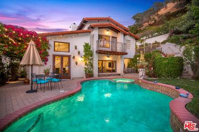 Beverly Hills Single Family Home For Sale: 2134 Benedict Canyon Drive